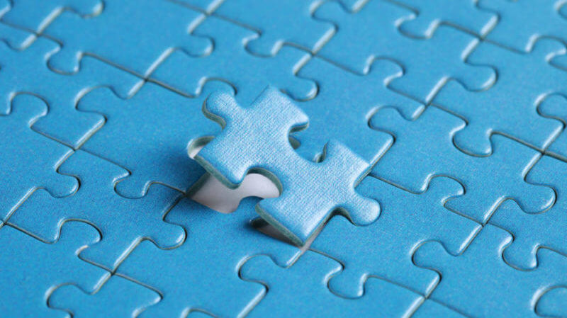 Poslední chybějící dílek v puzzle