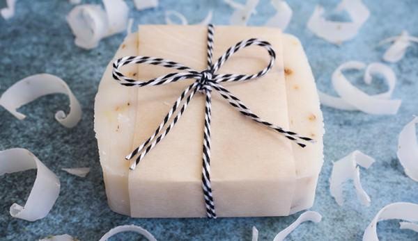 Dárek v podobě vyrobeného mýdla