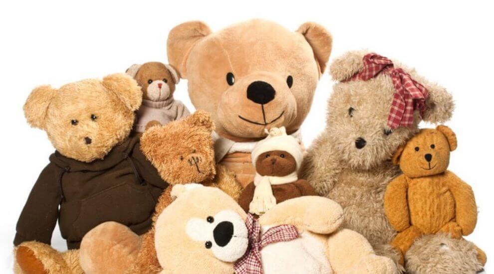 Medvědí rodinka - plyšáci