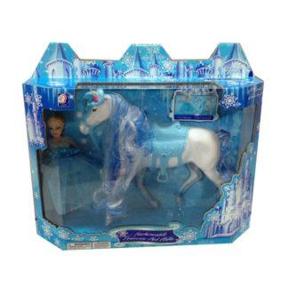 Panenka s koněm