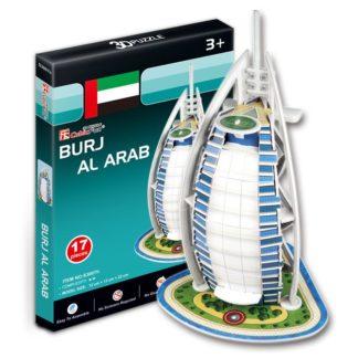 Puzzle 3D Burj Al Arab - 17 dílků