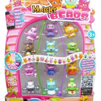 Monster Beads 12 pack-příšerky