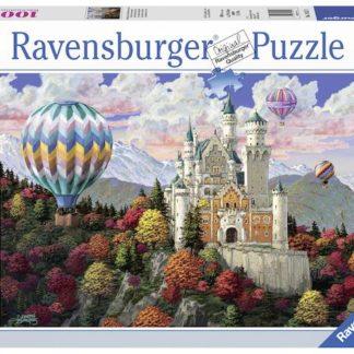 Puzzle Neuschwanstein 1000 dílků