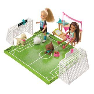 Barbie Chelsea fotbalistka herní set