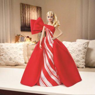 Barbie vánoční panenka blondýnka
