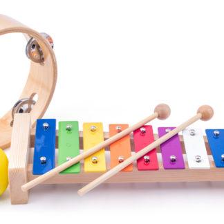 WOODY Muzikální set ( xylofon