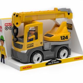 Multigo build - jeřáb s řidičem