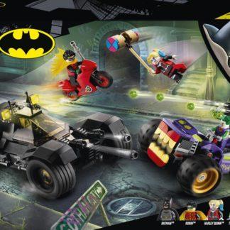 Lego Super Heroes Pronásledování Jokera na tříkolce