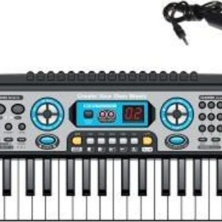 WIKY Elektronické klávesy s mikrofonem a rádiem