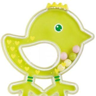 CANPOL BABIES Chrastítko ptáček - zelené