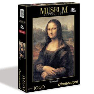 Puzzle Museum 1000 dílků Leonardo - Mona Lisa