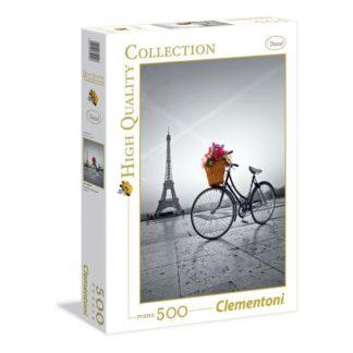 Puzzle 500 dílků Romantická procházka Paříží