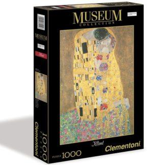 Puzzle Museum 1000 dílků Klimt - Polibek