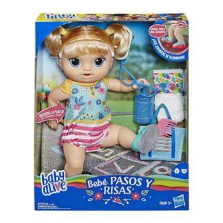 Baby Alive Chodící panenka s hnědými vlasy
