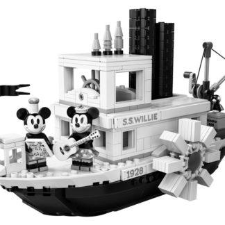 Lego Ideas Parník Willie