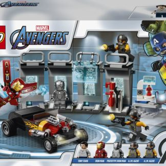Lego Super Heroes Zbrojnice Iron Mana