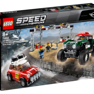 LEGO® Speed Champions 75894 1967 Mini Cooper S Rally a 2018 MINI John Cooper Works Buggy