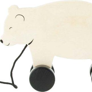 JOLLEIN Dřevěný tahací medvěd