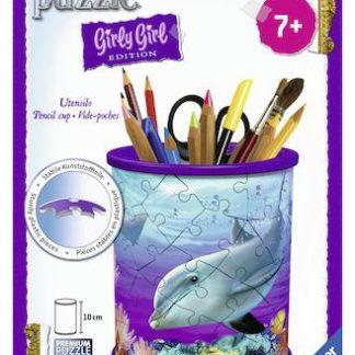 Puzzle 3D Stojan na tužky Podvodní svět 54 dílků