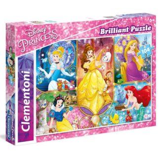 Puzzle Briliant 104 dílků Princezny
