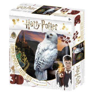 Puzzle 3D 300 dílků Harry Potter - Hedwig