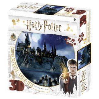 Puzzle 3D 300 dílků Harry Potter - Bradavice