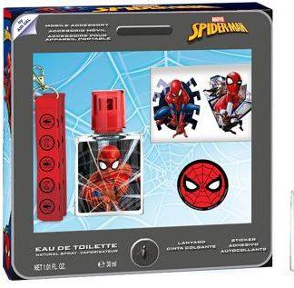 Dárková sada Spiderman EDT 30 ml + Šňůrka na krk + Samolepky