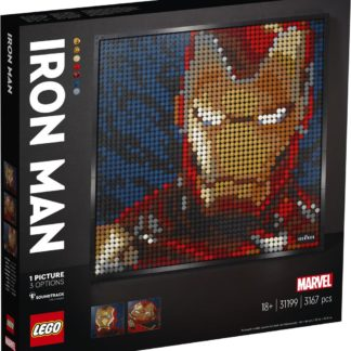 Lego Zebra Iron Man od Marvelu