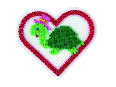 Hama Midi - podložka velké srdce