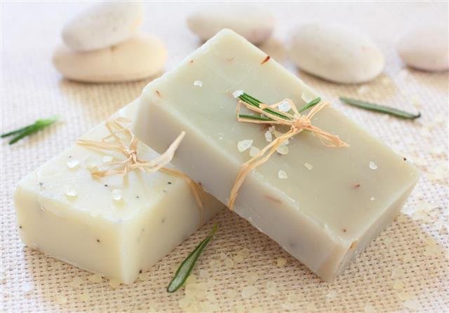 Vyrobené mýdlo